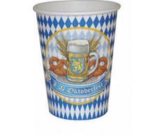 8 bicchieri festa della birra