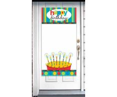 Decorazione porta personalizzabile Happy Birthday