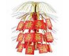 Centrotavola Capodanno cinese rosso e oro