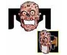 Porta carta igienica a forma di testa di zombie