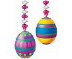 Decorazioni da appendere con uova di Pasqua