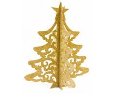 Decorazione albero di Natale dorato 30 cm