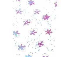 Coriandoli fiocchi di neve viola