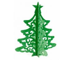 Decorazione albero di Natale verde 30 cm