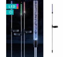 Lampada solare LED colonna d'acqua