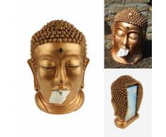 Portatovaglioli Buddha bronzo