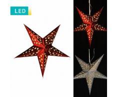 Stella di Natale con illuminazione LED