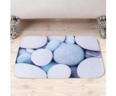 Tappetino da bagno con pietre