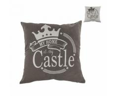 Cuscino decorativo My home is my castle
