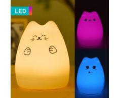 Luce notturna LED Gatto