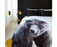 Biancheria da letto in microfibra con motivo a orso