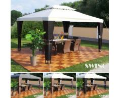 Tenda gazebo in rattan Royal Luxus Swing&Harmonie®