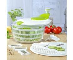 Centrifuga per insalata con grattugia