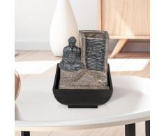Fontana da interni con Buddha