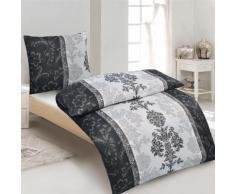 Biancheria da letto in microfibra ornamenti floreali
