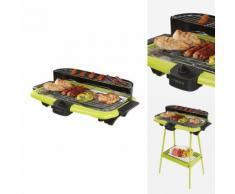 Barbecue elettrico 2 in 1 verde