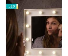 Specchio da trucco LED