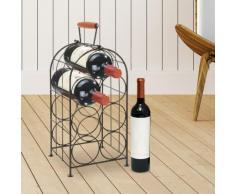 Scaffale per il vino