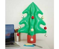 Albero di Natale gonfiabile con 12 palline