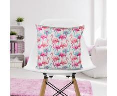 Cuscino decorativo con fenicotteri
