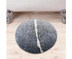 Tappetino da bagno a forma di pietra
