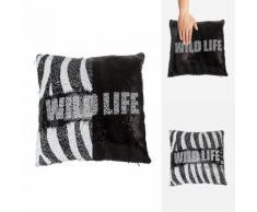 Cuscino decorativo effetto sirena Wild Life