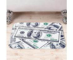 Tappetino da bagno con dollari