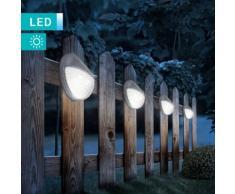 Set di 4 lampade solari LED a sfera