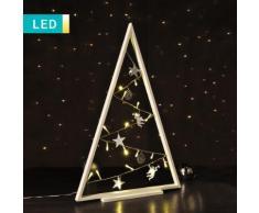 Decorazione LED ad albero di Natale con angeli