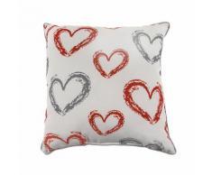 Cuscino decorativo con cuore