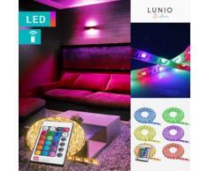 Striscia LED adesiva impermeabile con telecomando
