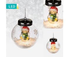 Palline di Natale LED con figura