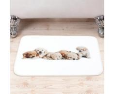 Tappetino da bagno con cagnolini