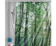 Tenda da doccia foresta