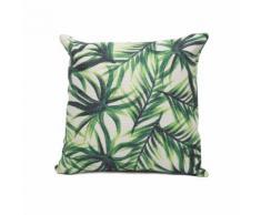 Federa per cuscino con piante tropicali