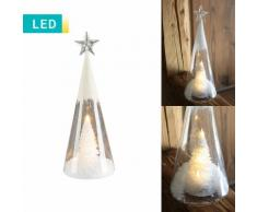 Decorazione LED Albero di Natale & stella