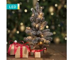 Albero di Natale LED innevato