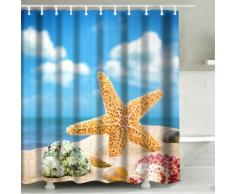 Tenda da doccia Stella marina 3D