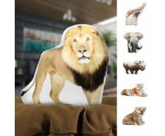 Cuscino decorativo animale della savana