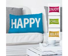 Cuscino decorativo con scritta