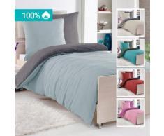 Biancheria da letto reversibile renforcé