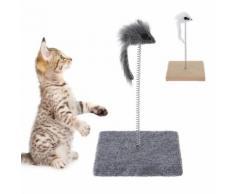 Gioco per gatti Topo su molla