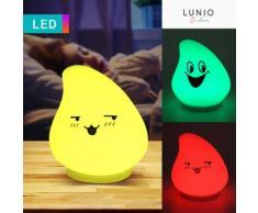 Luce notturna LED Faccia sorridente