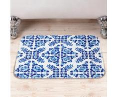 Tappetino da bagno con motivo a maiolica
