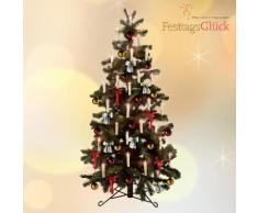 Set di 10 candele LED per l'albero di Natale LED
