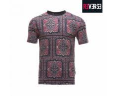 T-shirt con fantasia a tappeto orientale