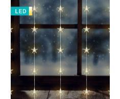 Tenda di luci LED con stelle