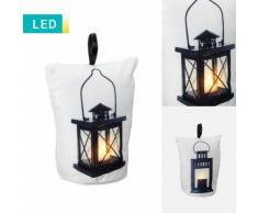 Fermaporta a lanterna con LED