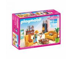 PLAYMOBIL® Dollhouse Salotto con stufa a legna 5308