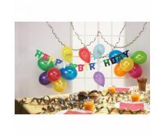 HAPPY PEOPLE Set decorazioni festa di compleanno